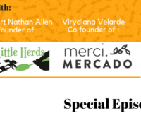 Special Episode No.1 Edible Insects. Interview with Little Herds and Merci Mercado