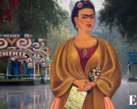 Xochimilco's floating allotments, Frida Kahlo's wedding, The Aztecs' tobacco. Ep. 05